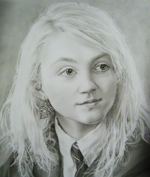 Luna Lovegood by Ptolemie