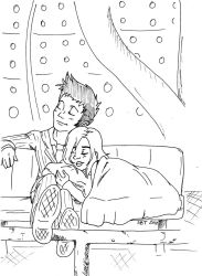 Lazy Day in the TARDIS by StarlightWhispers
