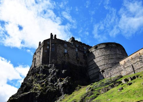 Edinburgh Castle by JanKacar