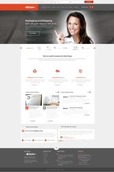 Packaging And Shipping Web Design by vasiligfx