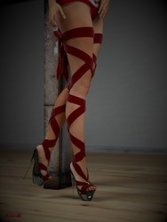 Dangerouse High Heels by MichaelG1234