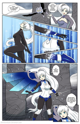 Commission - Weiss's Armor Transformation by PhantomSkyler