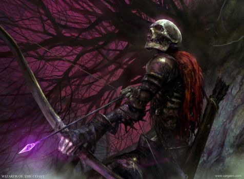 Skeleton Archer MTG by VargasNi