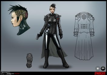 SYNDICATE concept - character AKUMA by torvenius