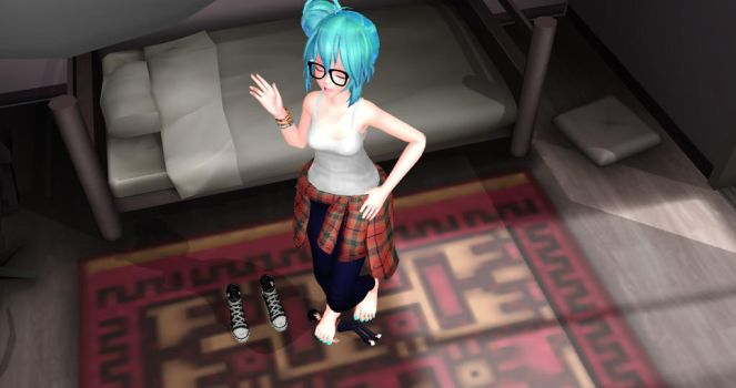 Found by Hipster Miku by TinyFeetSlave