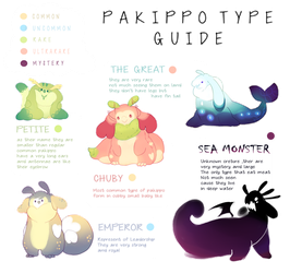 PAKIPPO :: Type Sub species GUIDE by Lattecatz