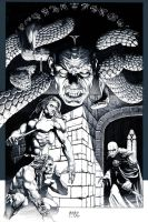 Shadow of Serpents: Ink by andybrase