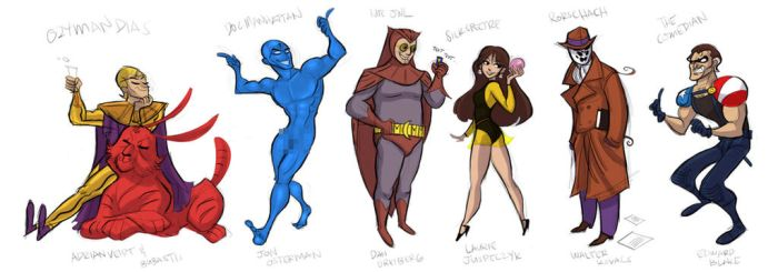 Watchmen by hanime87