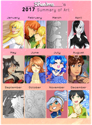 SRealms's 2017 Summary of Art!! by SRealms