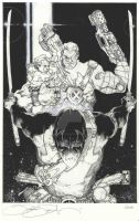 CABLE N 25 COVER BW by simonebianchi
