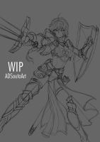 WIP - Amelia Crowguard by ADSouto