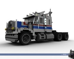 Lego Truck by L-X