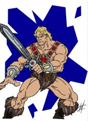 He-man by Mainfragger612