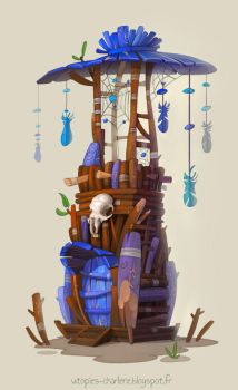 Dreamcatcher Tower by Catell-Ruz