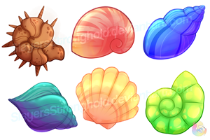 Six Shells of the Apocolypse by SlayersStronghold