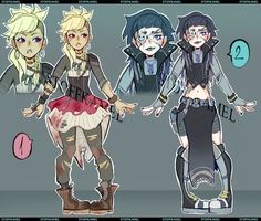[CLOSED] Post-Apocalypse Adopts  | PP or Points by Stoffkamel