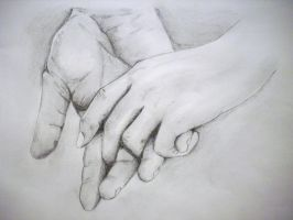 holding hands by terenika