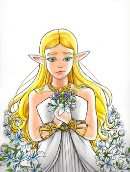 Silent Princess by LadyLore3