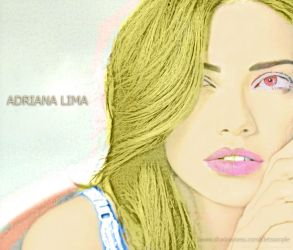 Adriana Lima by cletssimple