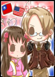+ APH Taiwan and America + by Koyo-Adorkabowl