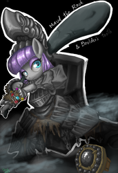 Maud the rock by ponynoia