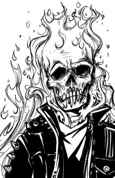Ghost Rider by CaraKhan