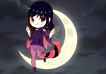 Moon Girl Adoptable (CYOP Result) by Ruerie