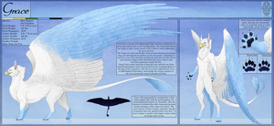 Ref Sheet Comish - Grace by TwilightSaint