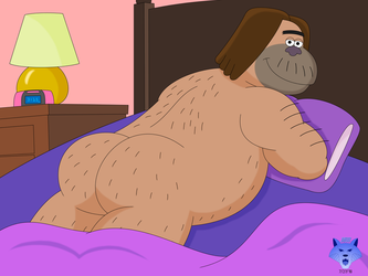 Tumblr Ask (Chad in Bed) by RobertGDraws