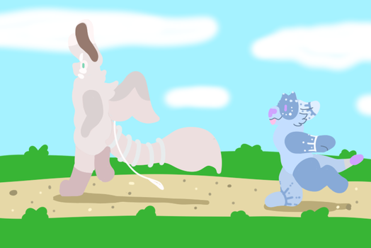 Taking a Walk by GlyphGryphon