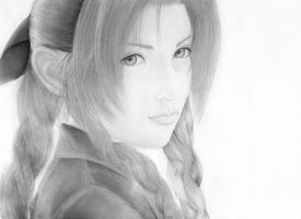 Aerith Gainsborough by DivineImmortality