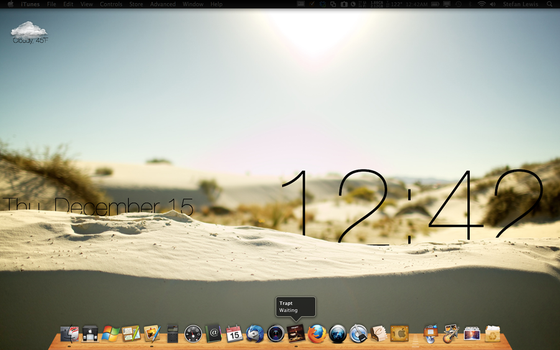 My Geek'd Desktop Q4 2011 by DarkIntuition