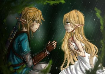 - Breath of the Wild - by Adween-art