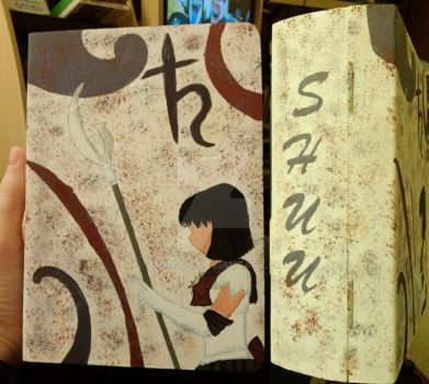 Sailor Saturn Book Box Christmas Gift by avitous