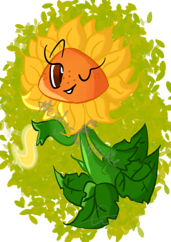 Sunflower - PvZ Fanzine by Nerdy-Cupcake