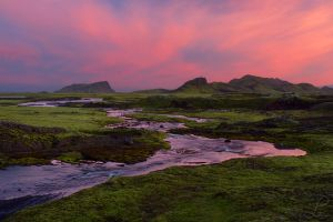 Fire over Iceland by da-phil