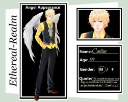Caelius Marques Ethereal-Realm Angel Application by Blakmyre