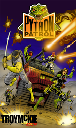 G.I. JOE IDW #1 Python Patrol Re-color by thedream86