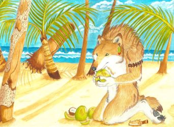 Under the Tropical sun by Hurricane-Wolf