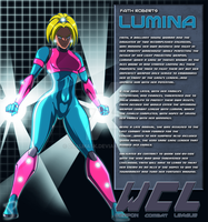 Faith Roberts:Lumina Bio by Dualmask