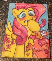 Emergency Commission 06 Fluttershy by MaryBellamy