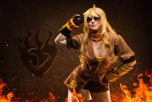 Yang Xiao Long by SCARLET-COSPLAY