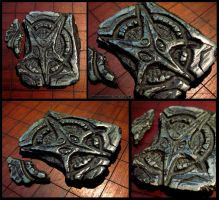 Occult Stone Sigil Fragment #1 by CopperCentipede