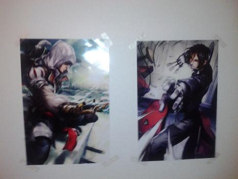 My posters I bought! by snowgirlyuki