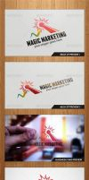 Magic Marketing Logo Template - Graphicriver by Changyik