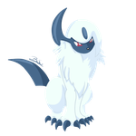 Pokemon - Absol by PirateGod3D2Y