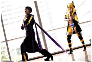 Vocaloid: Taito and Lily by wildquaker