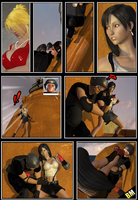 Scarlet vs Tifa: Culmination in Crises Page 4 by BusterMachineArts