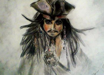 Captain Jack Sparrow Drawing by TheRealSexyKate