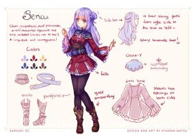Commission - Sena New Clothes by Hyanna-Natsu